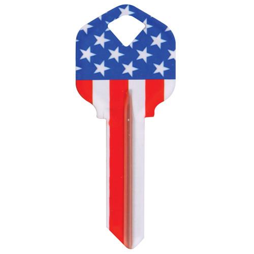 WacKey Vertical Flag Key Blank Kwikset/66 KW1