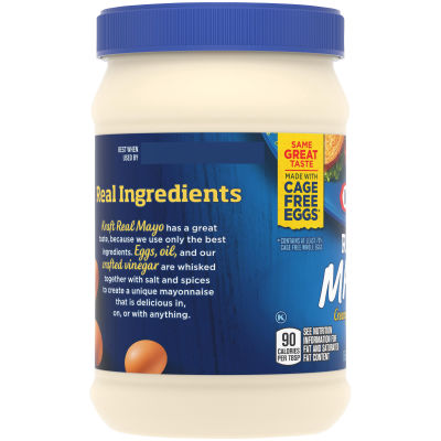 Kraft Real Mayonnaise 15 fl oz Jar