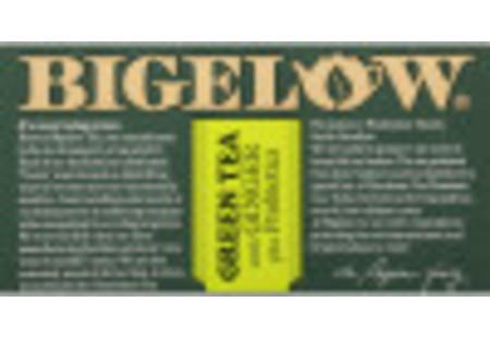 Front of Green Tea with Ginger Plus Probiotics Box - 20 tea bags per box