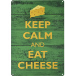 "Keep Calm Eat Cheese Novelty Sign (10"" x 14"")"