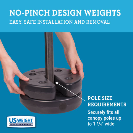 Tailgater Canopy Weights - 40 lbs. 5