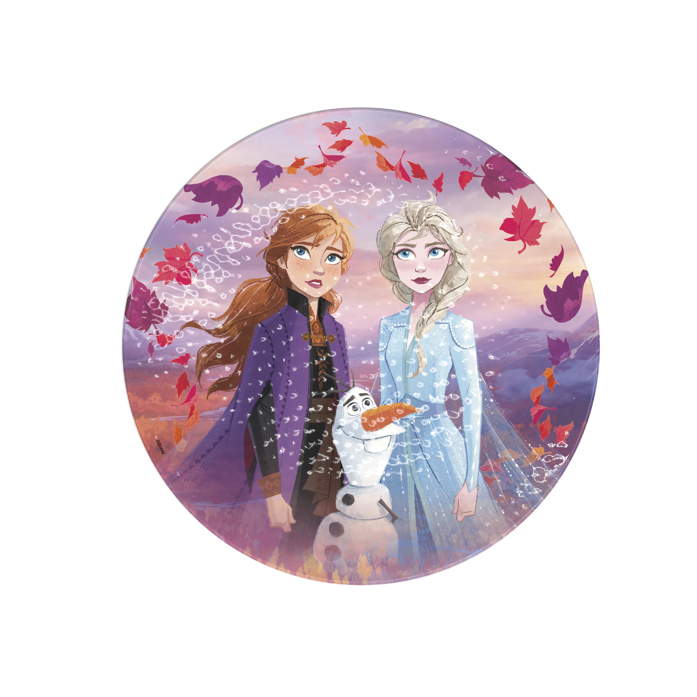 Disney Frozen 2 Movie Kids 9-inch Plate and 6-inch Bowl Set, Anna and Elsa, 2-piece set slideshow image 4