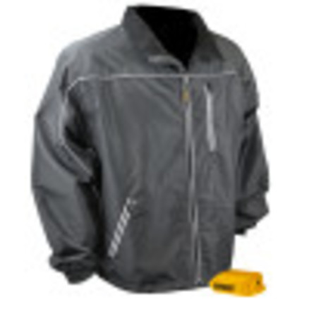 DEWALT® Unisex Heated Lightweight Shell Jacket Bare Black