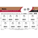 Metric Slotted & Castle Nuts Assortment (M6-1.00 thru M16-2.00)