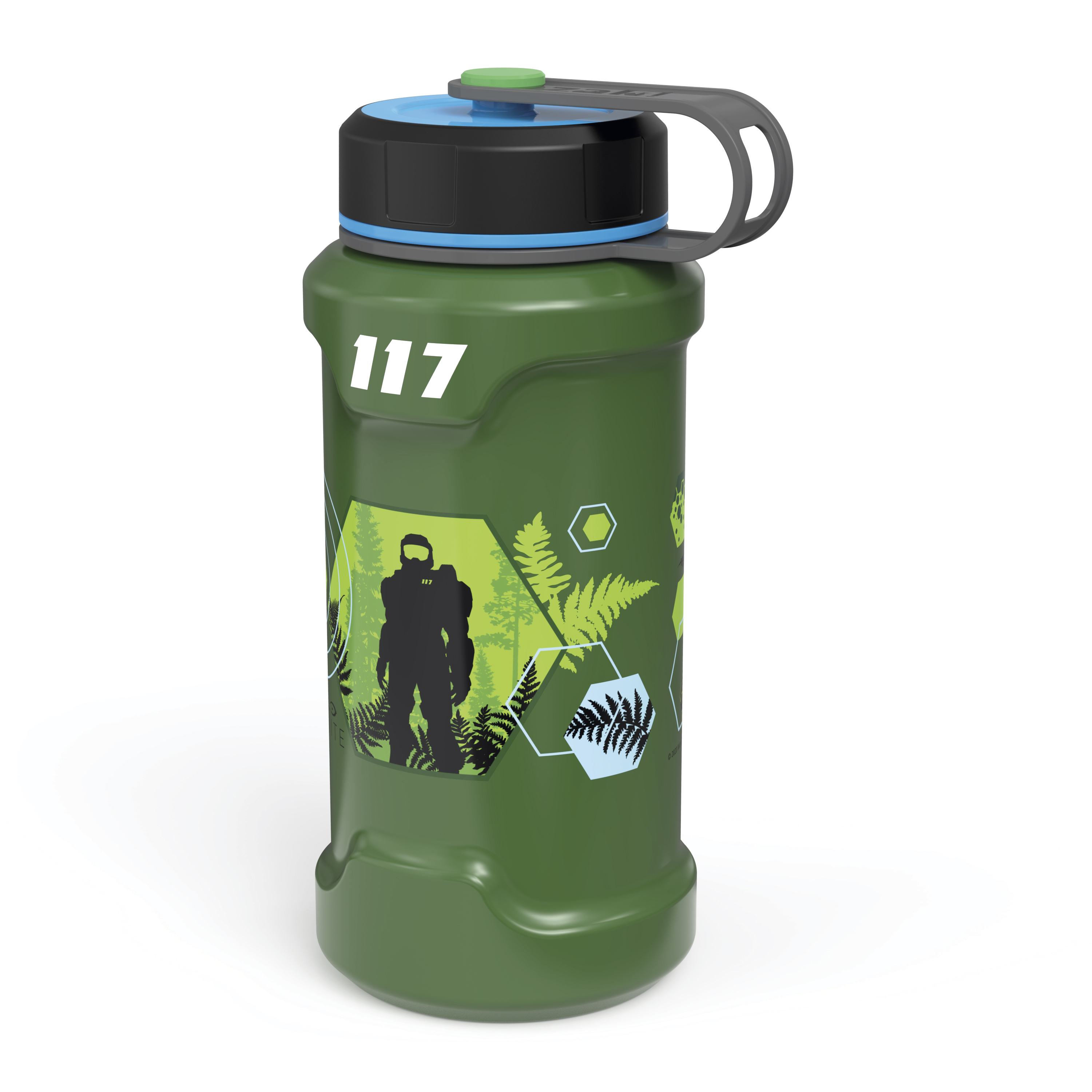 XBOX 24 ounce Stainless Steel Insulated Water Bottle, Halo slideshow image 5