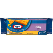 Kraft Colby Natural Cheese 8 oz Wrapper