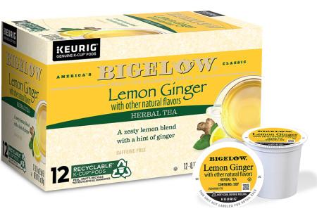 Lemon Ginger K-Cup® pods - Case of 6 boxes - total of 72 K-Cup® pods