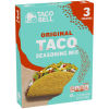 Taco Bell Original Taco Seasoning Mix 3 - 1 oz Box