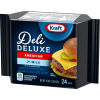 Kraft Deli Deluxe 2% Milk Reduced Fat American Cheese Slices, 16 oz (24 slices)