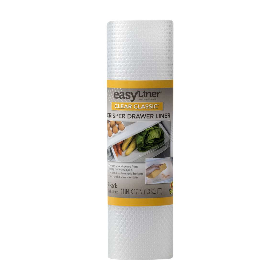Clear Classic® EasyLiner® Refrigerator Liner