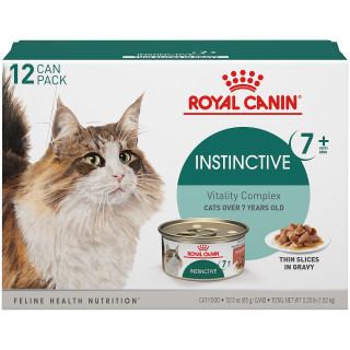 Instinctive 7+ Thin Slices in Gravy Canned Cat Food
