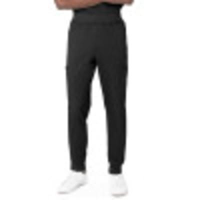Landau ProFlex Seven-Pocket Jogger Scrub Pants for Men: Modern Tailored Fit, Drawstring Medical Scrub Pants 2100-