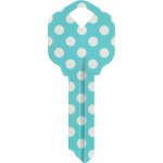 WacKey Teal Dot Key Blank