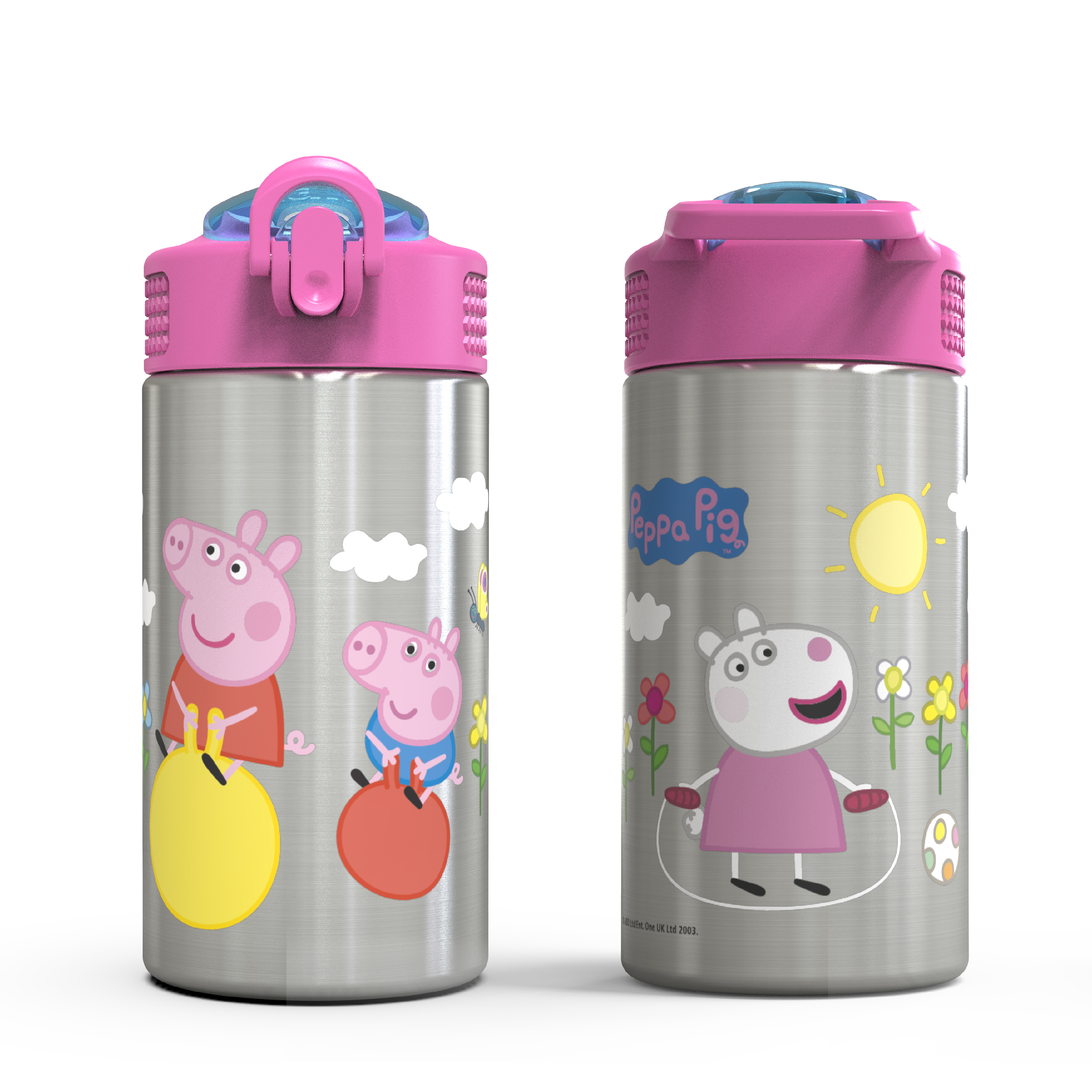 Nick Jr. 15.5 ounce Water Bottle, Peppa Pig slideshow image 4