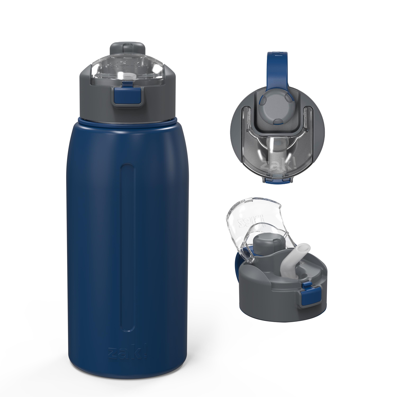 Genesis 32 ounce Vacuum Insulated Stainless Steel Tumbler, Indigo slideshow image 2