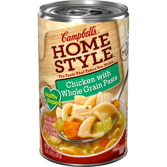 Chicken with Whole Grain Pasta Soup