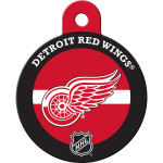 Detroit Red Wings Large Circle ID Spot Tag