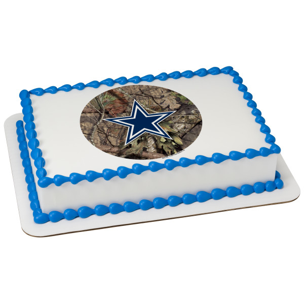 NFL Dallas Cowboys Mossy Oak® PhotoCake® Edible Image®