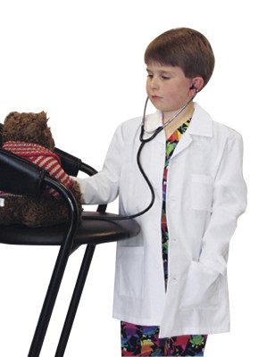 Landau 3 Pocket Lab Coat for Children 7003-Landau