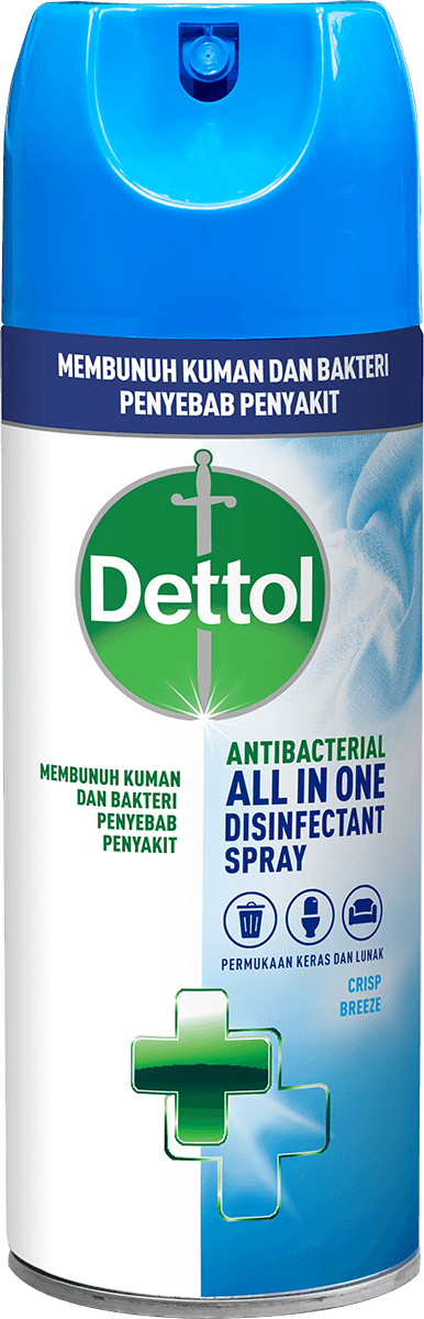 Spray Disinfektan Anti Bakteri Dettol Crisp Breeze