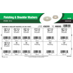 White Nylon Finishing & Shoulder Washers Assortment