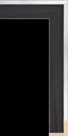 L7 Float Black Silver 1 5/8