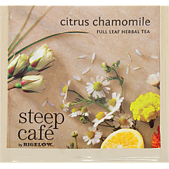 steep Café Citrus Chamomile Herbal Tea -Box of 50 pyramid tea bags