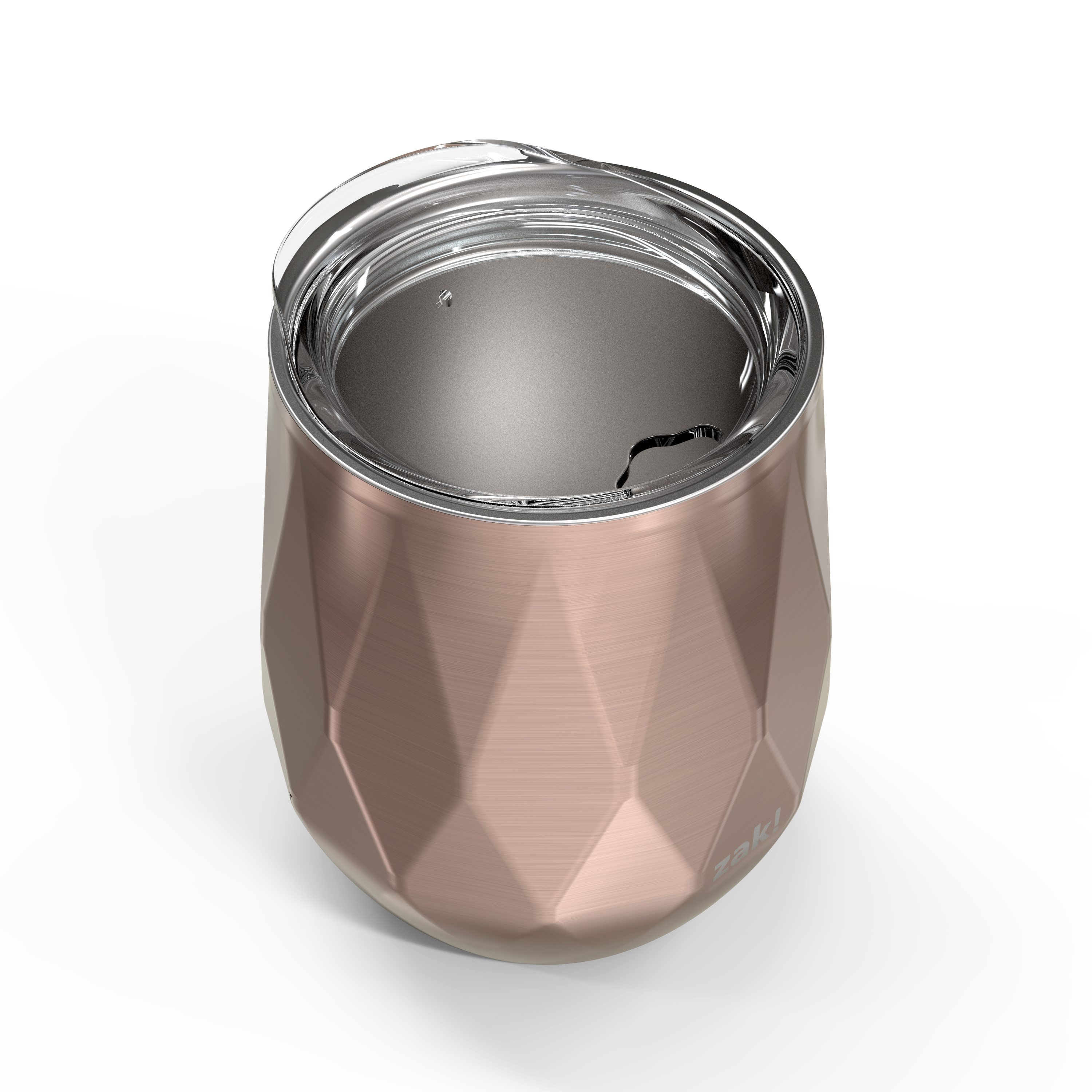 Fractal 11 ounce Vacuum Insulated Stainless Steel Tumbler, Rose Gold slideshow image 3
