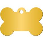 Mustard Large Bone Quick-Tag