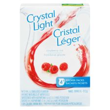 Crystal Light Pitcher Packs, Raspberry Ice