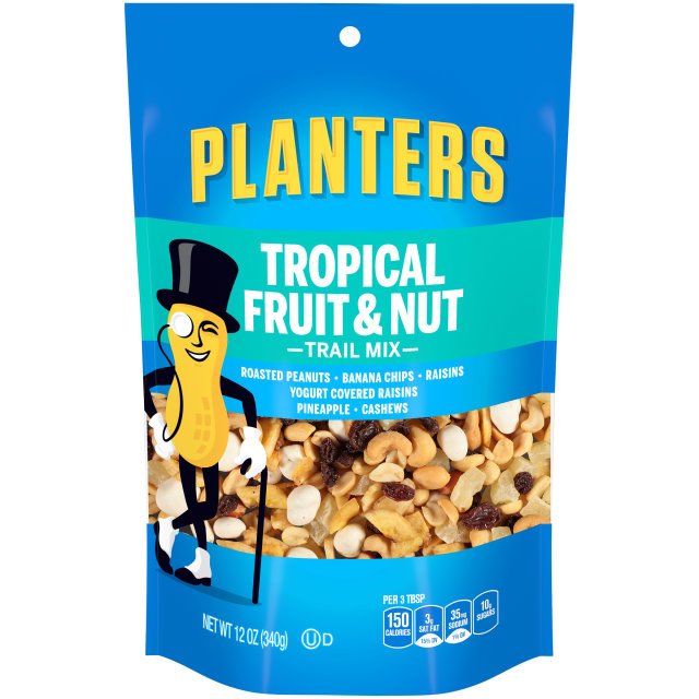 PLANTERS Trail Mix Tropical Fruit & Nut 12 oz Bag image