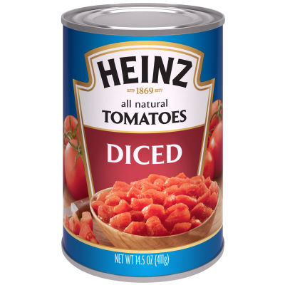 Heinz All Natural Diced Tomatoes 14.5 oz Can