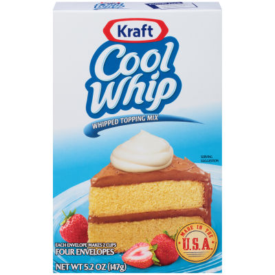 Kraft Cool Whip Whipped Topping Mix 5.2 oz Box