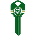 NCAA Colorado State Key Blank
