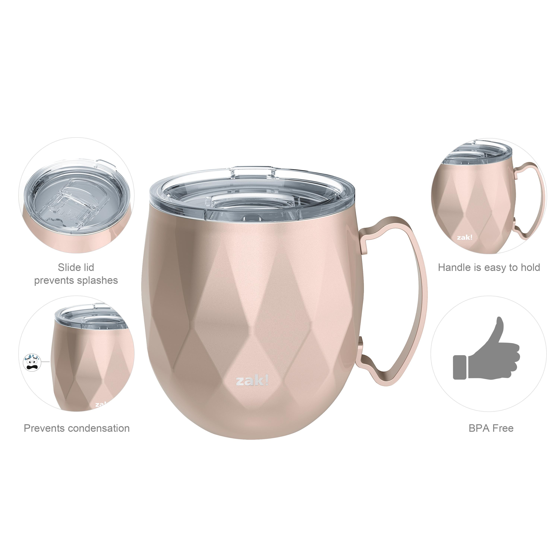 Fractal 19 ounce Mule Mug, Rose Gold slideshow image 6