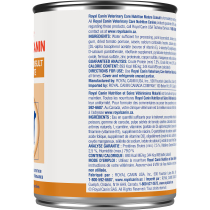 Royal Canin Veterinary Diet Canine Mature Consult Canned Dog Food