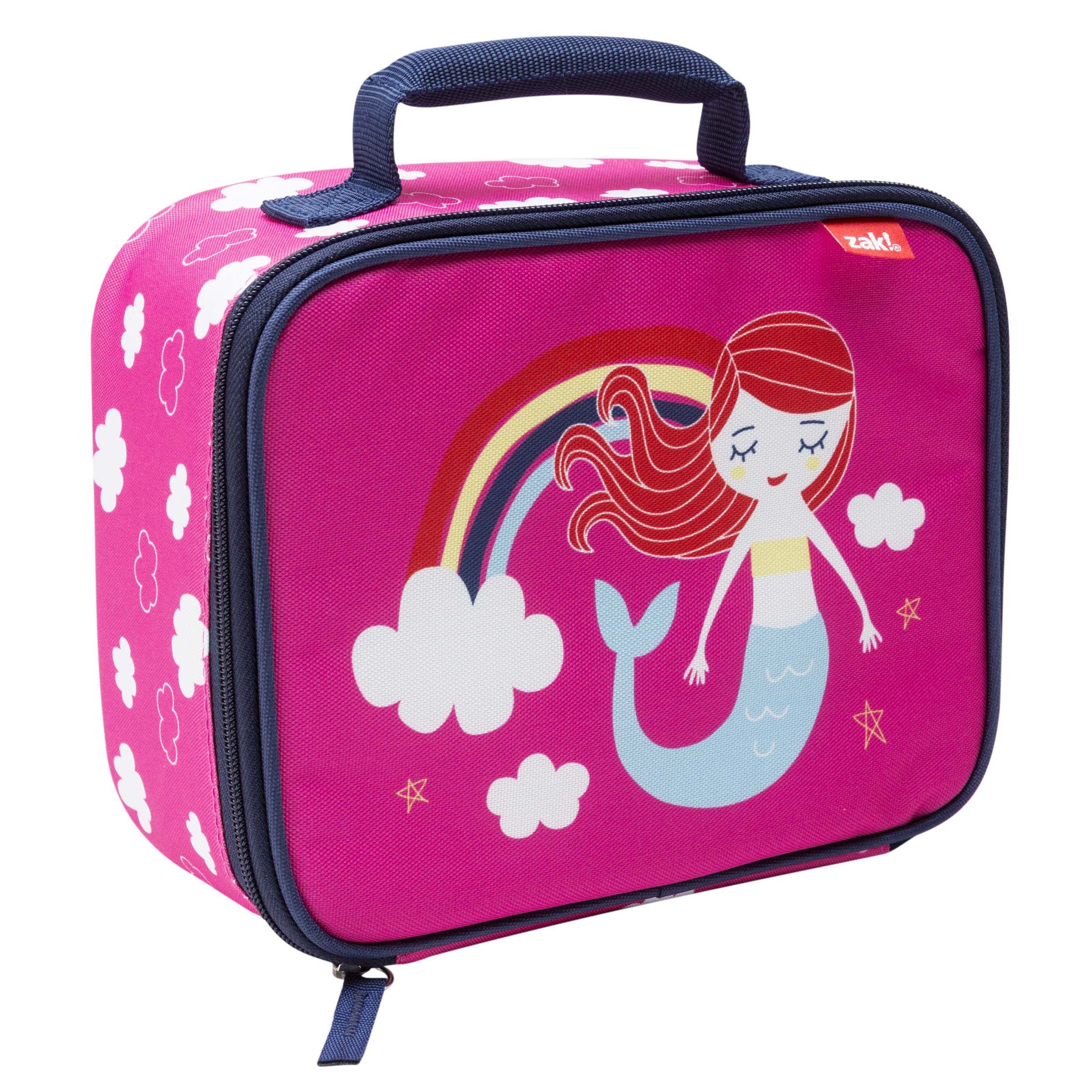 Happy Things Insulated Reusable Lunch Bag, Mermaids slideshow image 3