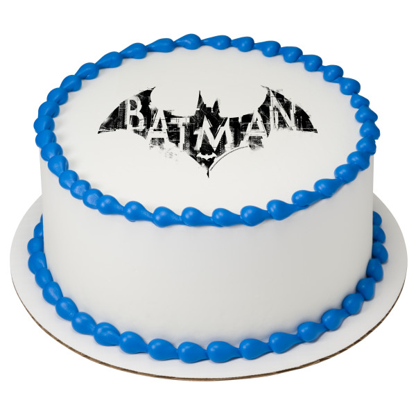 Batman™ Logo PhotoCake® Edible Image®