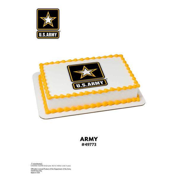United States Army® Edible Image® The Magic of Cakes® Page