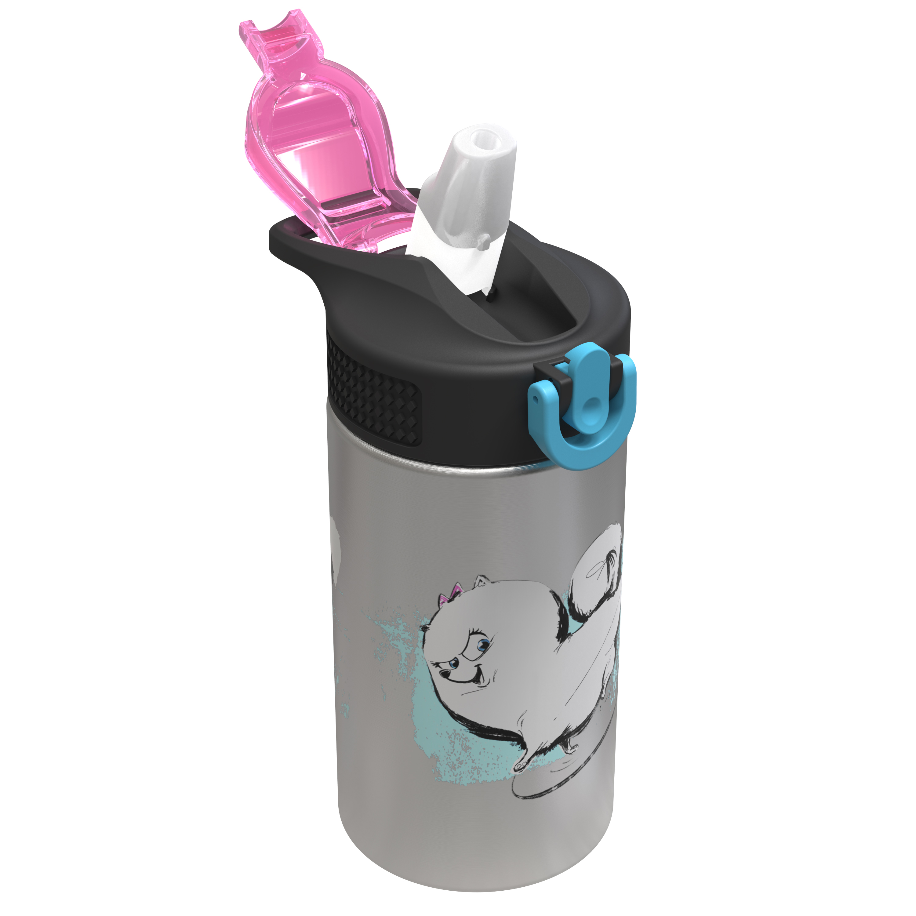 Secret Life Of Pets 2 15.5 ounce Water Bottle, Gidget slideshow image 2