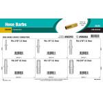 Brass Hose Barbs Assortment (Connectors)