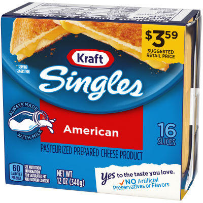 Kraft Singles Cheese Slices American