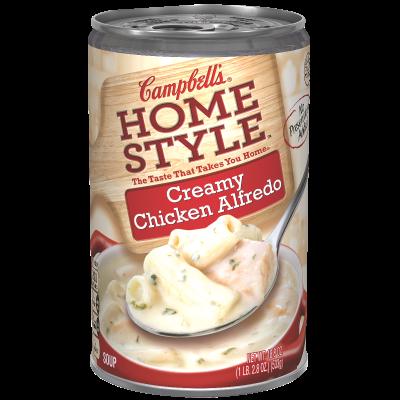 Creamy Chicken Alfredo Soup