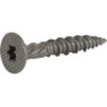 Power Pro Gray Ceramic Wafer-Head Cement Board Screws