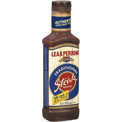 Lea & Perrins Traditional Steak Sauce 15 oz Bottle