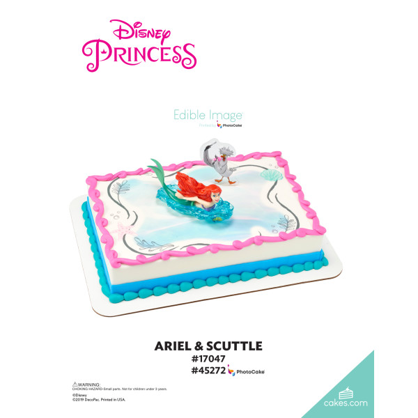 Disney Princess The Little Mermaid Ariel and Scuttle DecoSet® The Magic of Cakes® Page