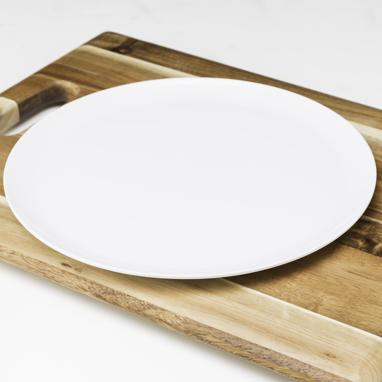 Everyday Melamine Plate, White, 2-piece set slideshow image 3