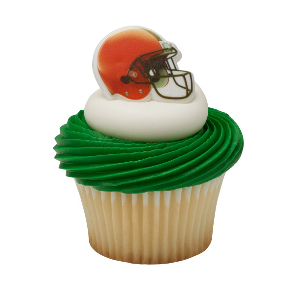 NFL Cleveland Browns Cupcake Rings