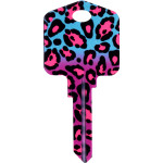Kool Keys Fashion Leopard Key Blank