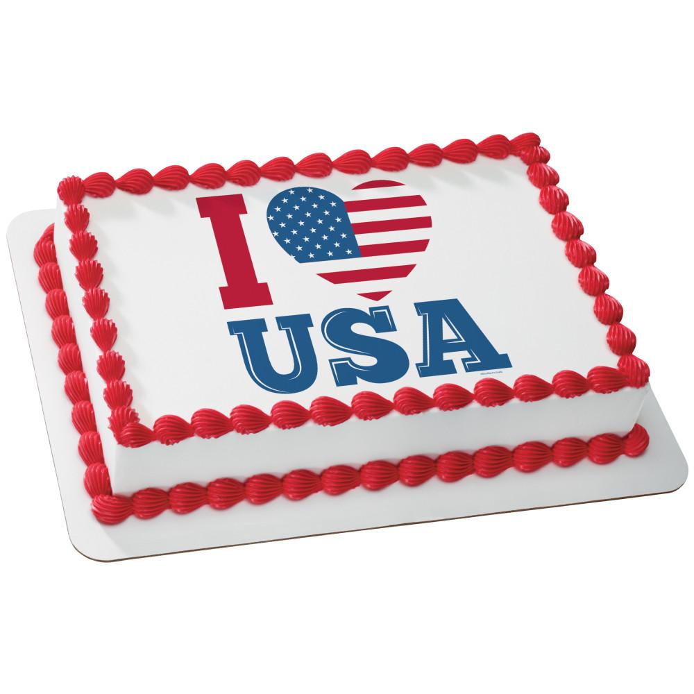 Celebrate America I Love USA